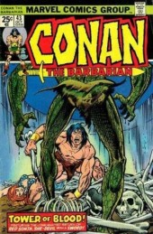 Conan the Barbarian Vol 1 (Marvel - 1970) -43- Tower of blood!