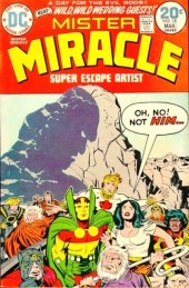 Mister Miracle (DC comics - 1971) -18- Wild, wild wedding guests!