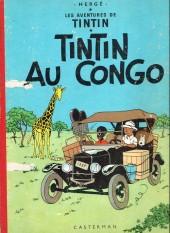 Tintin (Historique) -2B20- Tintin au congo