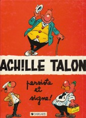 Achille Talon -3d88- Achille talon persiste et signe