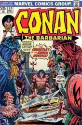 Conan the Barbarian Vol 1 (Marvel - 1970) -33- The gauntlet of the seven deaths!