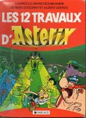 Astérix (Hors Série) -C01c1986- Les 12 Travaux d'Astérix