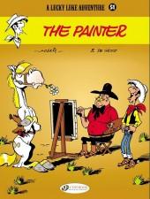 Lucky Luke (en anglais) -6951- The painter