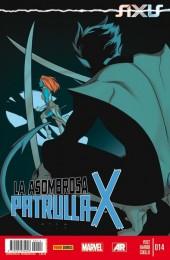 La asombrosa Patrulla-X -14- Axis