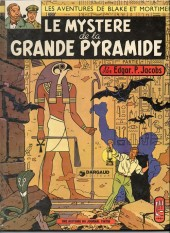 Blake et Mortimer (Historique) -3b74- Le Mystère de la Grande Pyramide - 1re partie