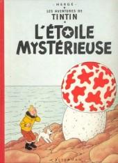 Tintin (Historique) -10B27b- L'étoile mystérieuse