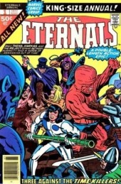 The eternals Vol.1 (Marvel comics - 1976) -AN01- The time killers