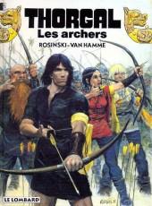 Thorgal -9a93- Les archers