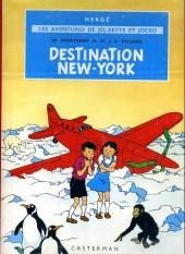 Jo, Zette et Jocko (Les Aventures de) -2B35b- Destination New-York