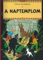 Tintin (en langues étrangères) -14Hongrois- A naptemplom