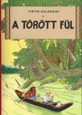 Tintin (en langues étrangères) -6Hongrois- A törött fül