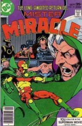 Mister Miracle (DC comics - 1971) -19- It's all in the mine