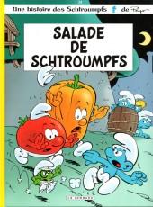 Les schtroumpfs -24a- Salade de Schtroumpfs