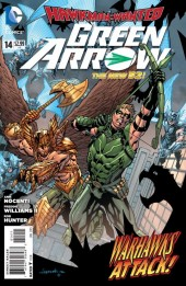 Green Arrow (2011) -14- Hawkman: Wanted, Part Two