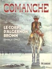 Comanche -10a1983- Le corps d'Algernon Brown