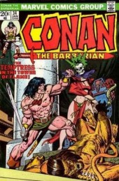 Conan the Barbarian Vol 1 (Marvel - 1970) -34- The temptress in the tower of flame!