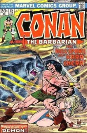 Conan the Barbarian Vol 1 (Marvel - 1970) -35- The hell-spawn of Kara-Shera!