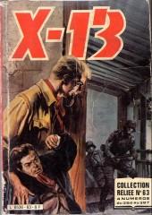 X-13 agent secret -Rec63- Collection reliée N°63 (du n°384 au n°387)