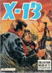 X-13 agent secret -Rec72- Collection reliée N°72 (du n°420 au n°423)