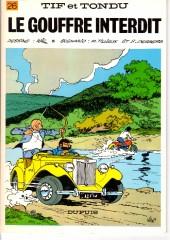 Tif et Tondu -26a1983- Le gouffre interdit