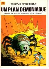 Tif et Tondu -22b83- Un plan démoniaque