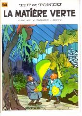 Tif et Tondu -14b83- La matière verte
