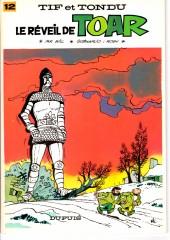 Tif et Tondu -12b83- Le réveil de Toar