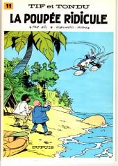 Tif et Tondu -11b83- La poupée ridicule