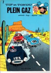 Tif et Tondu -7a1983- Plein gaz