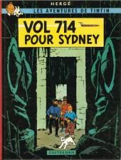 Tintin (Historique) -22C3ter- Vol 714 pour Sidney