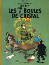Tintin (Historique) -13C3ter- Les 7 boules de cristal