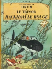 Tintin (Historique) -12B29- Le trésor de Rackham Le Rouge