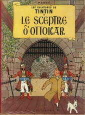 Tintin (Historique) -8B27bis- Le sceptre d'Ottokar