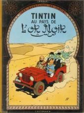 Tintin (Historique) -15B24- au pays de l'or noir