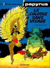 Papyrus -3a88- Le colosse sans visage