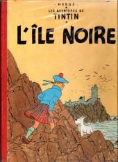 Tintin (Historique) -7B24- L'île noire