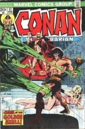 Conan the Barbarian Vol 1 (Marvel - 1970) -37- Curse of the golden skull!