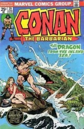 Conan the Barbarian (1970) -39- The dragon from the inland sea!