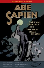 Abe Sapien (2008) -INT03- Dark and Terrible and The New Race of Man