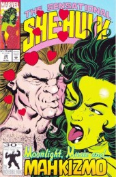 Sensational She-Hulk (The) (1989) -38- Love in bloom