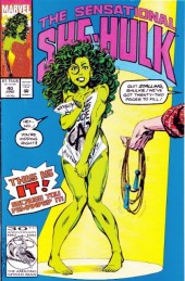 Sensational She-Hulk (The) (1989) -40- One potato, 2 potato...