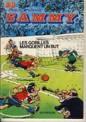 Sammy -14a1983- Les gorilles marquent un but