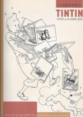 (Catalogues) Ventes aux enchères - Christie's - Christie's - Tintin - 14 mars 2015 - Paris