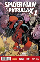 Lobezno y la Patrulla-X -35- Spiderman y La Patrulla-X. Capitulos 1 y 2.