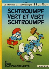 Les schtroumpfs -9d1987- Schtroumpf vert et vert Schtroumpf