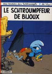 Les schtroumpfs -17c2006- Le schtroumpfeur de bijoux