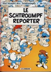 Les schtroumpfs -22a2006- Le Schtroumpf reporter