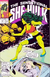 Sensational She-Hulk (The) (1989) -41- Rock and ruin