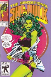 Sensational She-Hulk (The) (1989) -43- What's Xemnu with you?