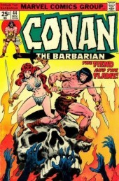 Conan the Barbarian Vol 1 (Marvel - 1970) -44- The fiend and the flame!